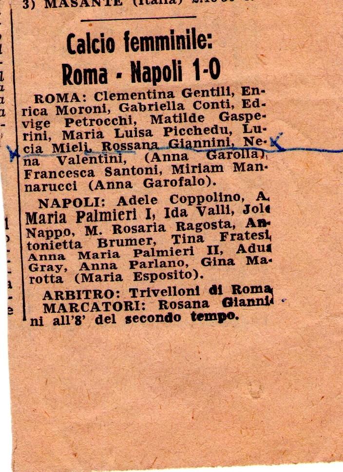 Roma Femminile 1
